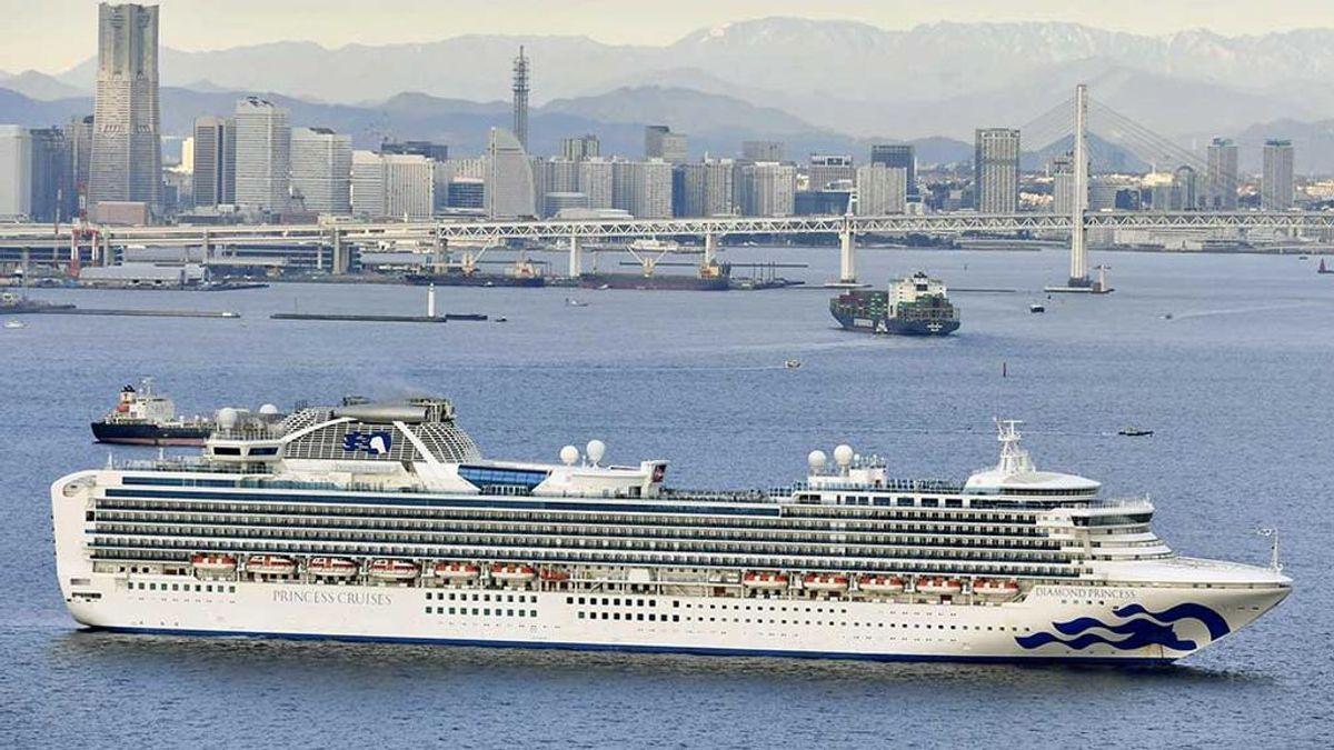 Un crucero con 3.711 pasajeros, en cuarentena por coronavirus en Japón