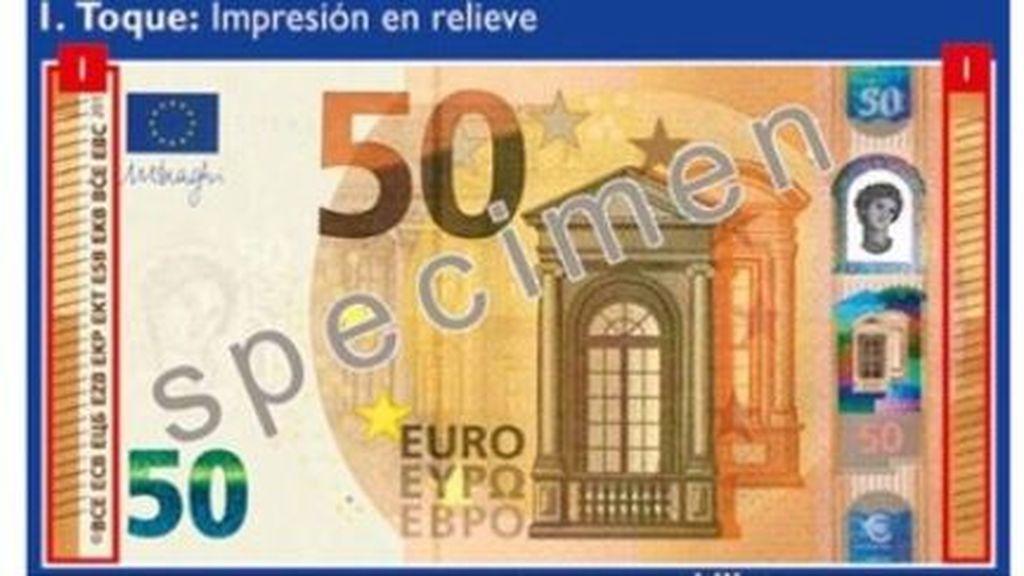 Cómo saber si un billete de 50 euros es falso, según explica la Guardia Civil