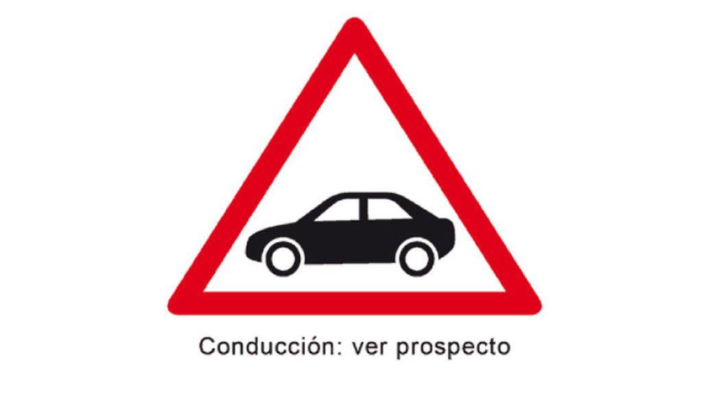 Alerta peligro conducción
