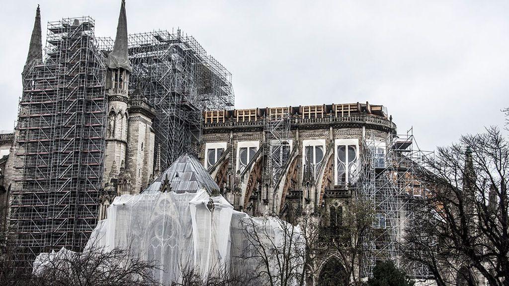 Notre Dame en obras.