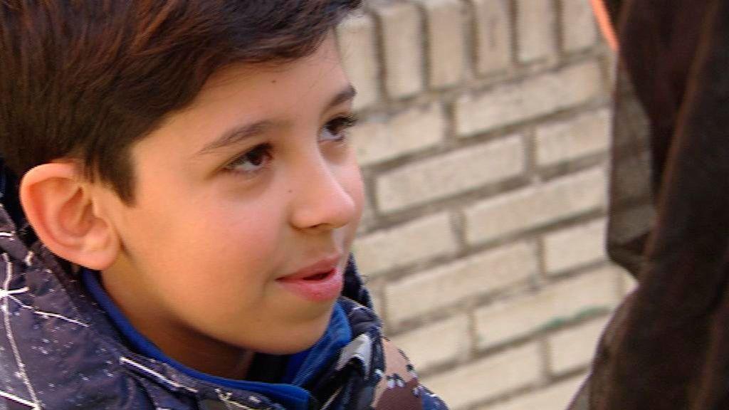 Mohamed, el niño que ha salvado la vida de su madre