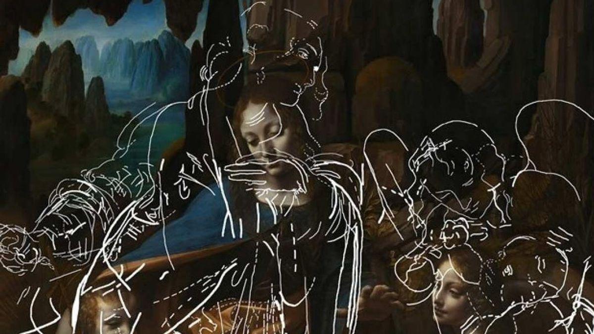 Desvelan los dibujos ocultos en una obra maestra de Leonardo Da Vinci gracias a un algoritmo