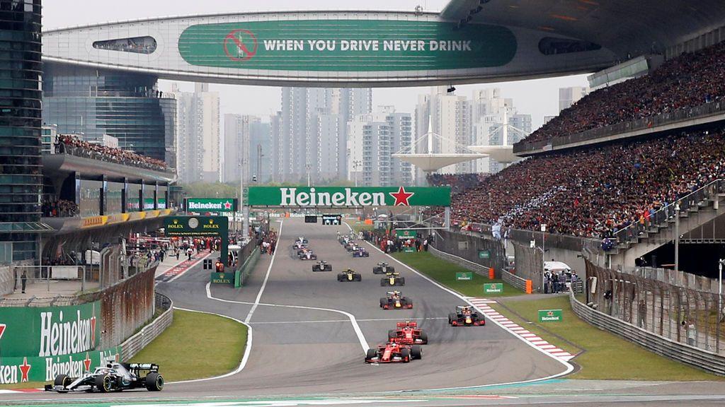 El Gran Premio de China de Fórmula 1, cancelado por el coronavirus