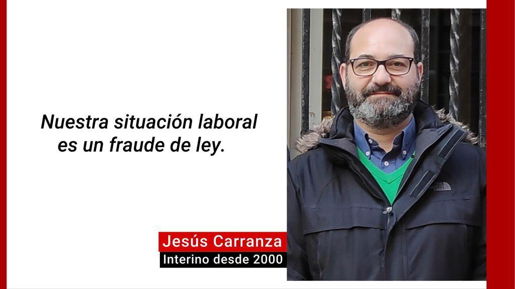 Declaración Jesús Carranza, interino