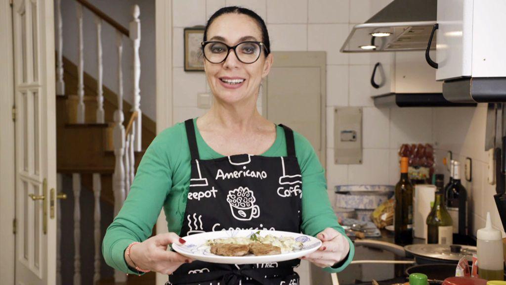 Yolanda Gaviño prepara un menú con referencias flamencas y mucho arte