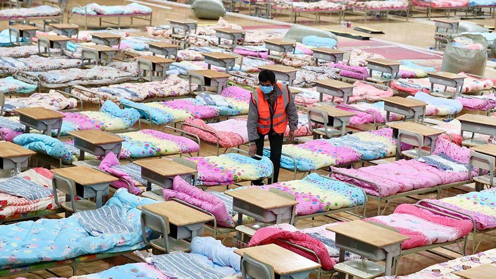 China creará ocho nuevos hospitales para hacer frente al coronavirus