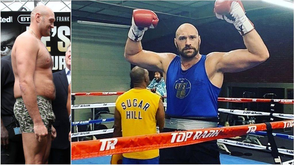 La dieta de Tyson Fury para ganar el título de los pesos pesados: seis comidas para mantenerse en 115 kg
