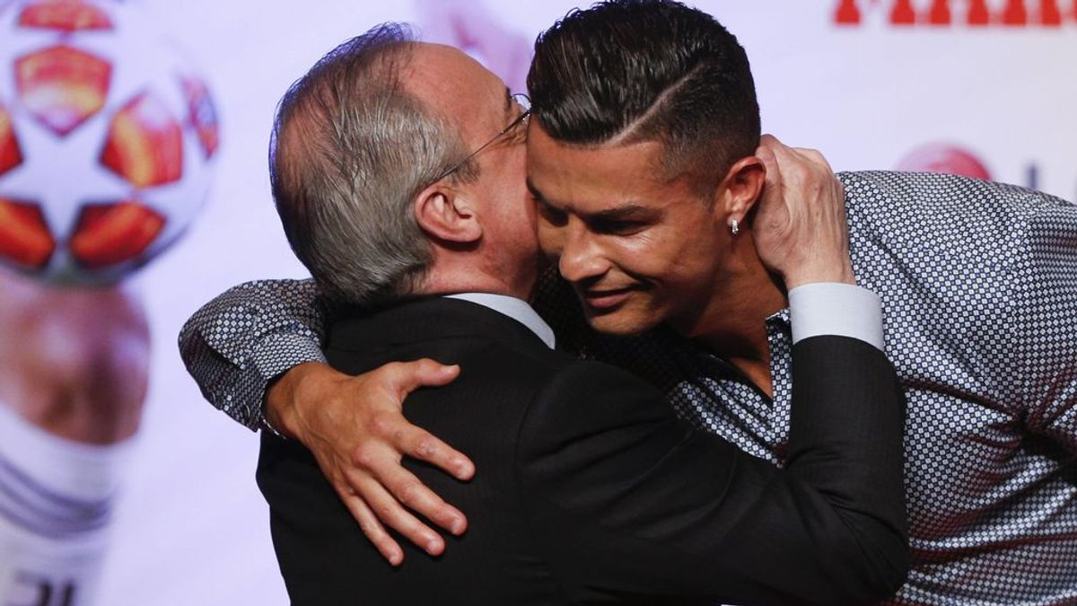 """La felicitación de Florentino Pérez a Cristiano Ronaldo por su cumpleaños: """"Nos acordamos mucho de ti"""""""