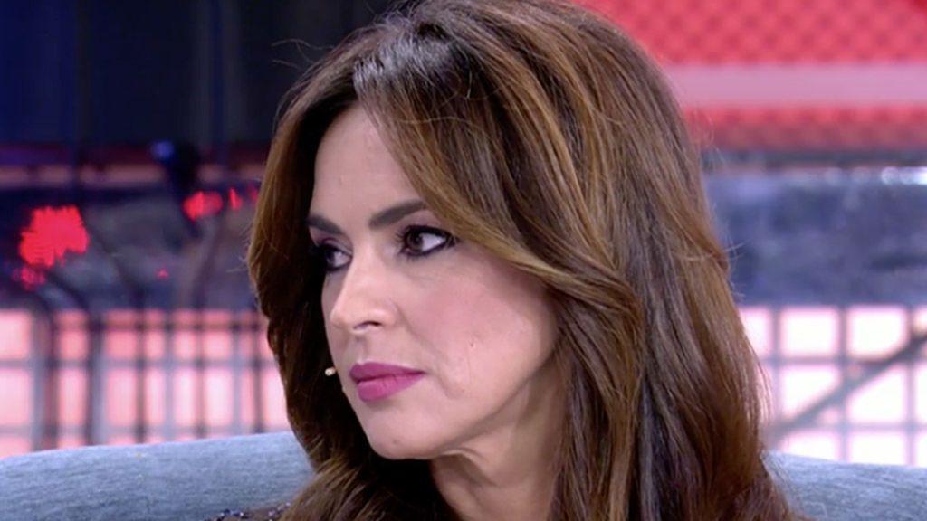 """Olga Moreno se pronuncia tras derrotar a Rocío Carrasco en los tribunales: """"Estoy contenta"""""""