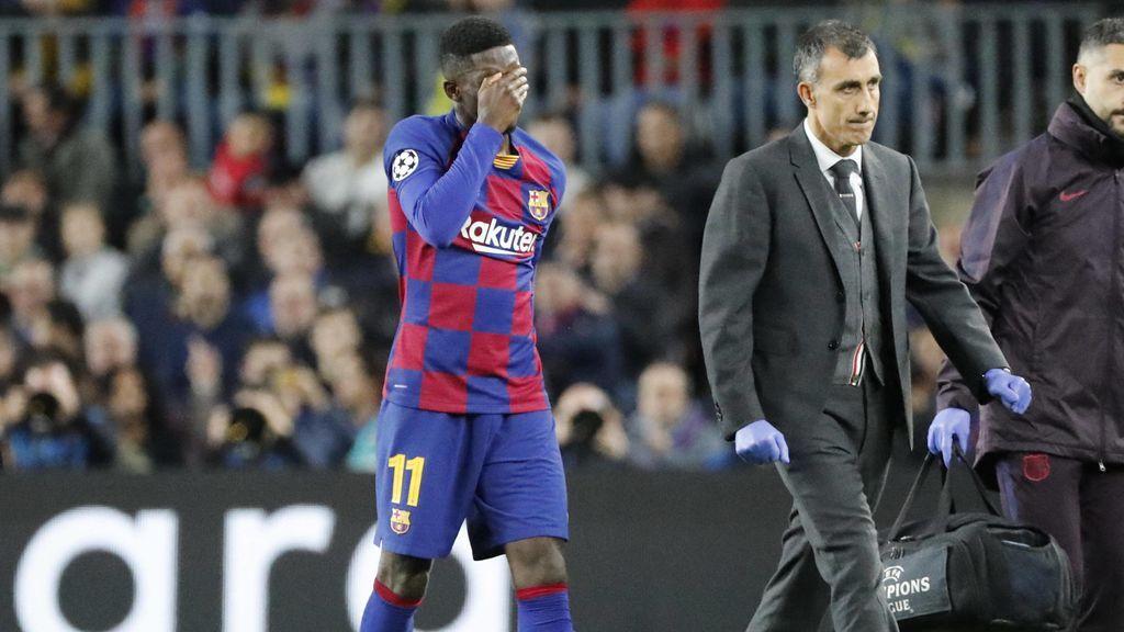 De Doha a Finlandia pasando por Barcelona: el trasiego de Dembelè para recuperarse de su lesión
