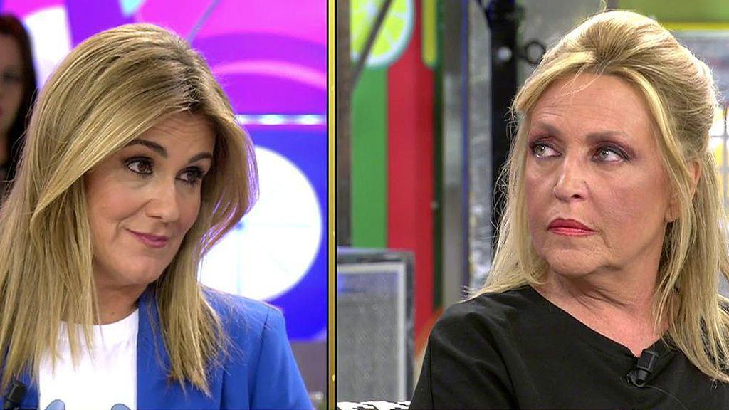 Carlota Corredera recibe una llamada y advierte a Lydia Lozano de un engaño