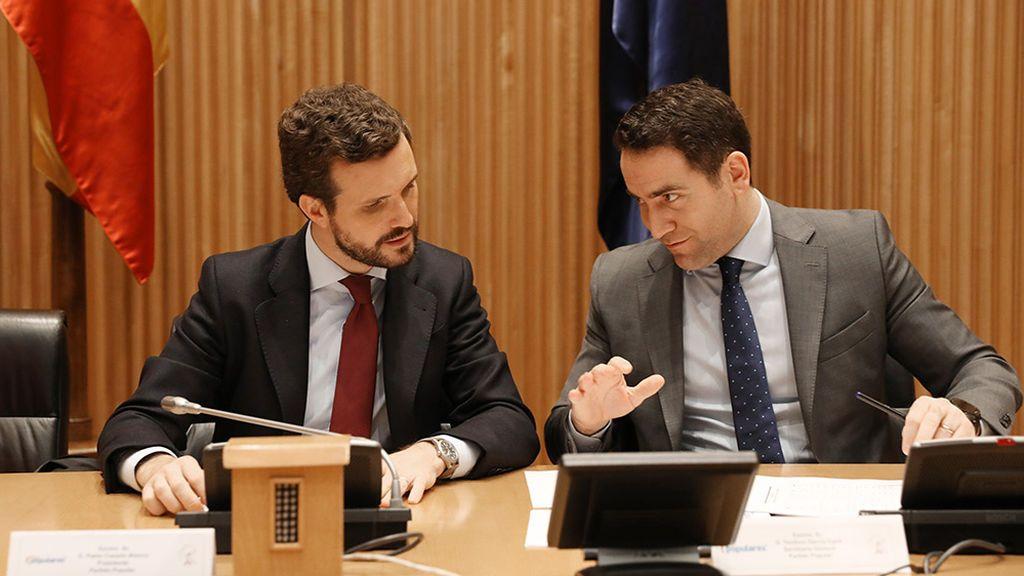 Casado pide la comparecencia urgente de Sánchez en el Congreso por el caso Delcy