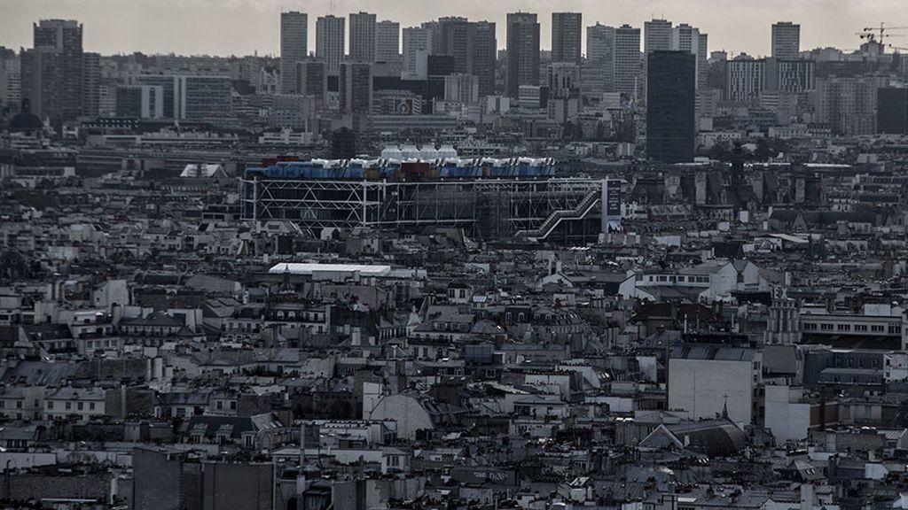Panorámica de París desde el Sacre Coeur.