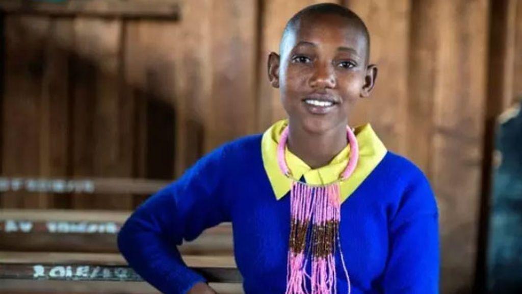 Kaiseyie Merin, de 13 años