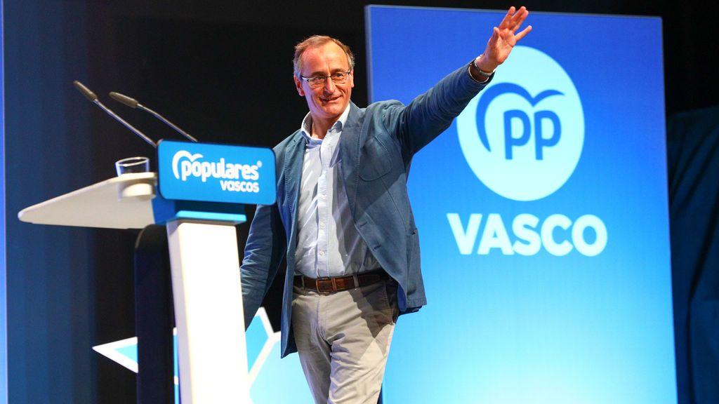 El PP vasco apoya a Alfonso Alonso como candidato a Lehendakari