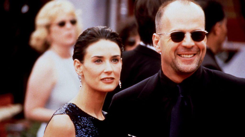 Demi Moore y Bruce Willis, la historia de amor detrás de una vida dedicada al trabajo