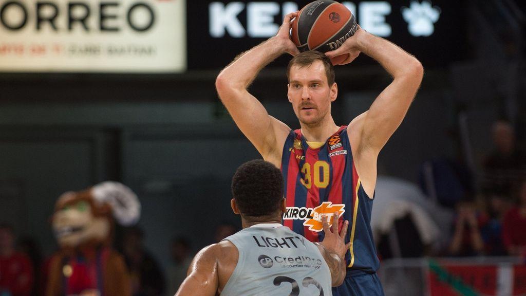 El Baskonia corta su mala racha en la Euroliga y vuelve a soñar con el 'playoff' tras ganar al Villeurbanne