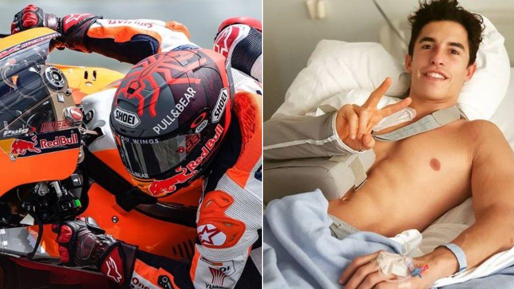 """Marc Márquez se resiente de la lesión de su hombro tras los test de Sepang: """"Me encuentro peor de lo que me esperaba"""""""