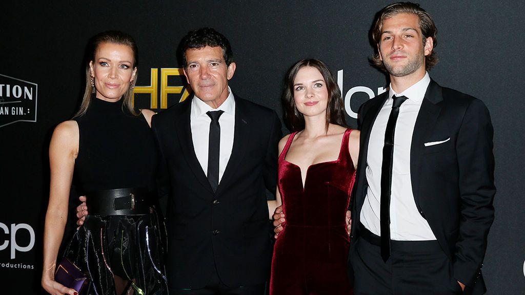 1.500 dólares le ha costado a Antonio Banderas llevar a su hija y al novio de esta a los Óscar