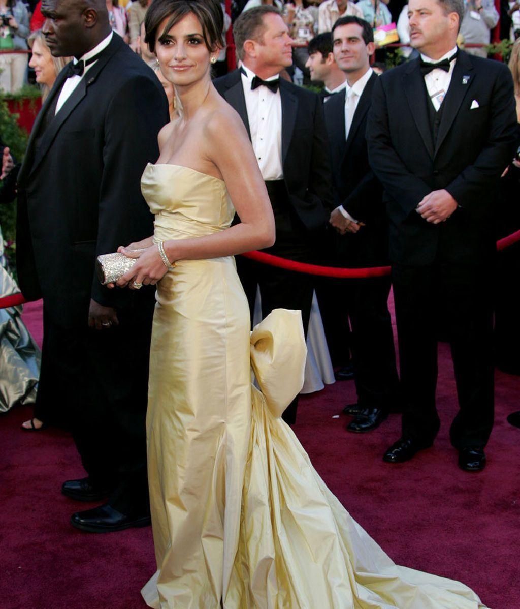 Penélope Cruz en los Oscars de 2005