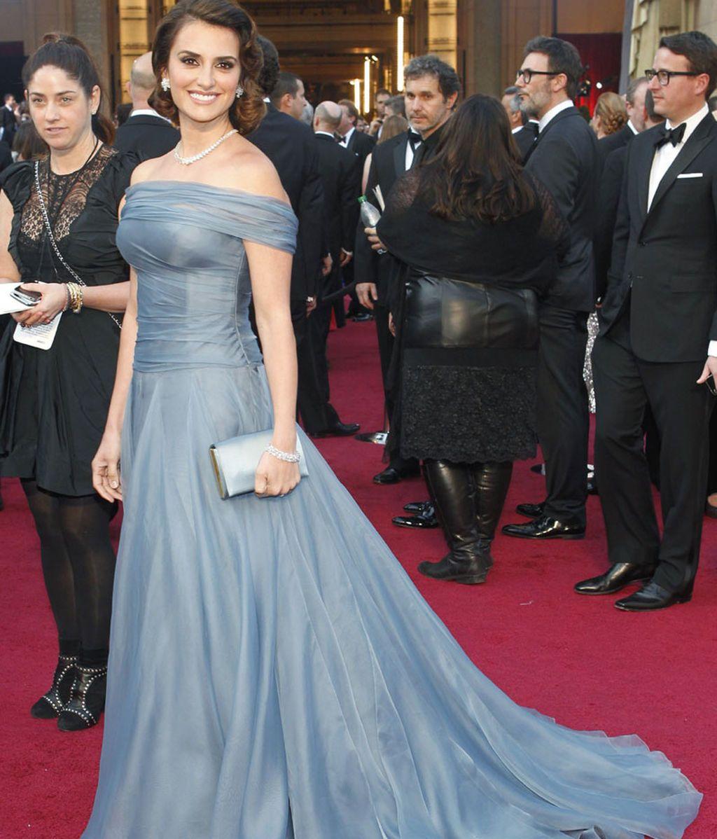 Penélope Cruz, en los Oscars de 2012