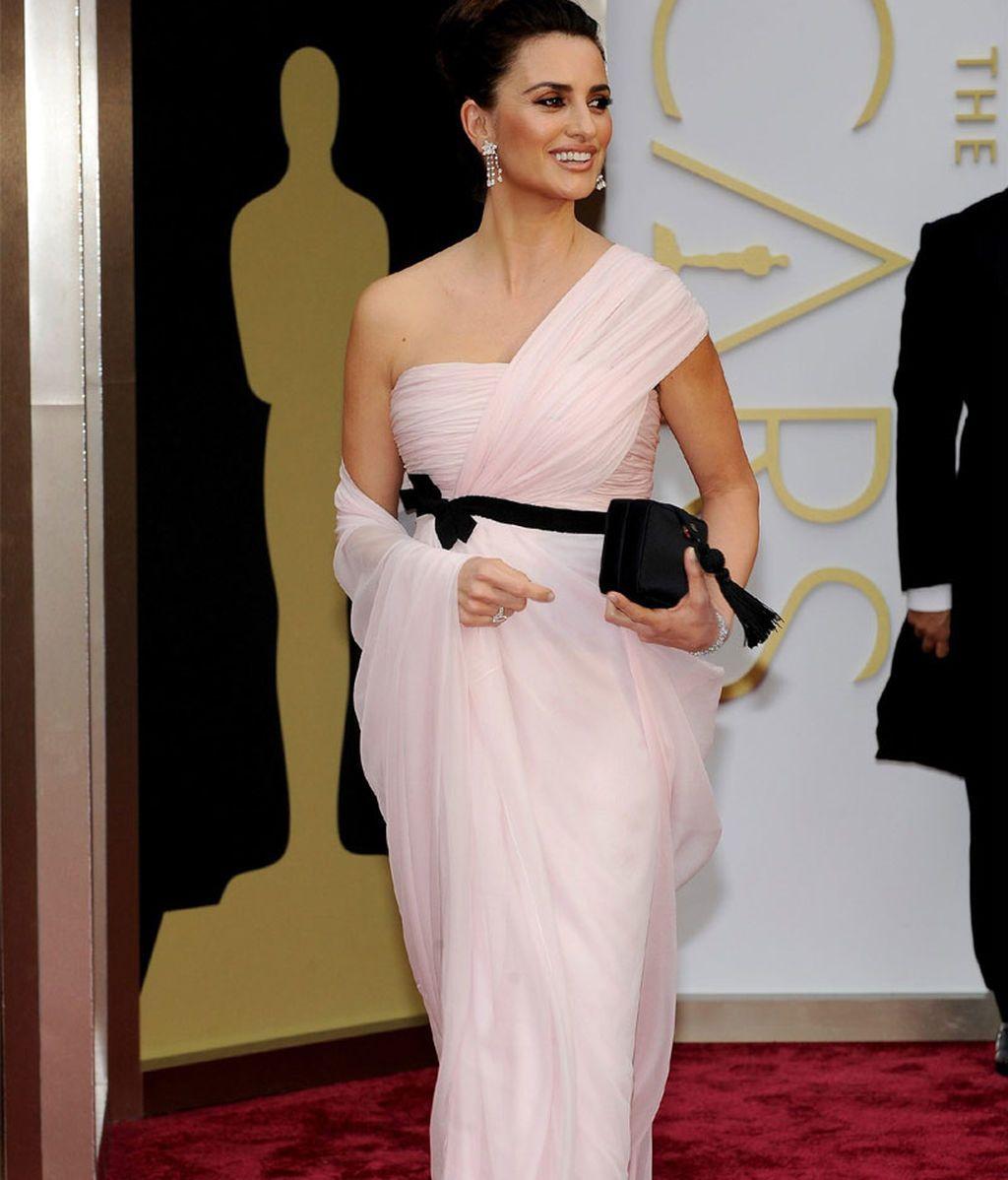 Penélope Cruz, en los Oscars de 2014