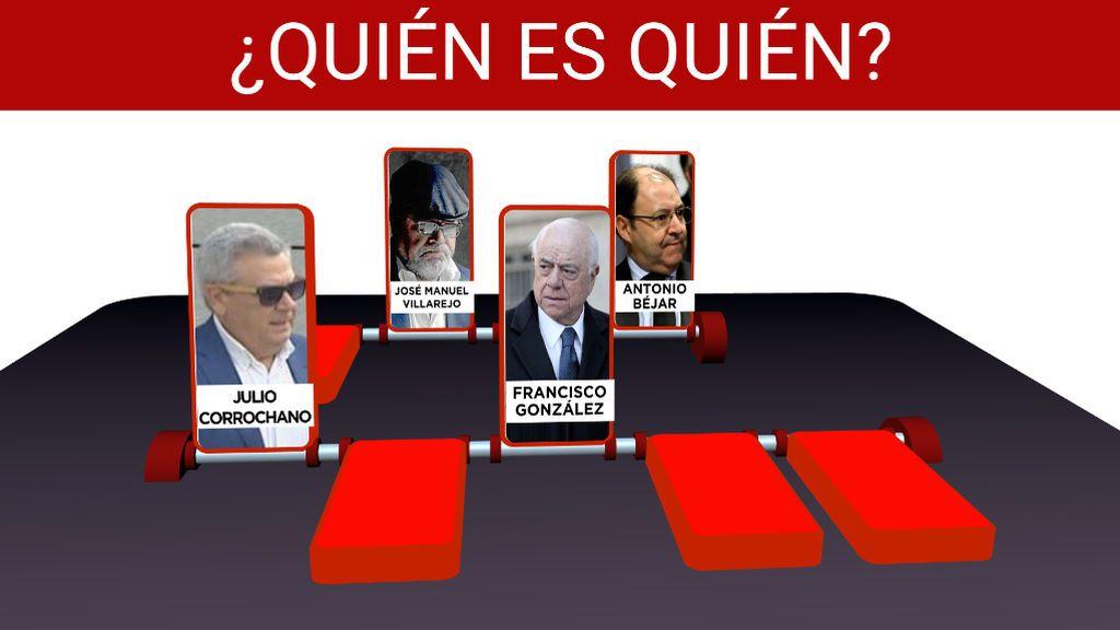 De Francisco González a Villarejo, los personajes clave del espionaje del BBVA