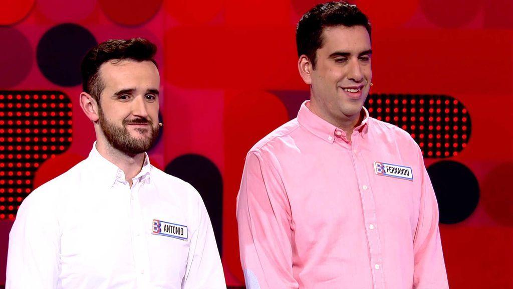 Antonio y Fernando no confían en 'El Bribón' y ganan 20 euros
