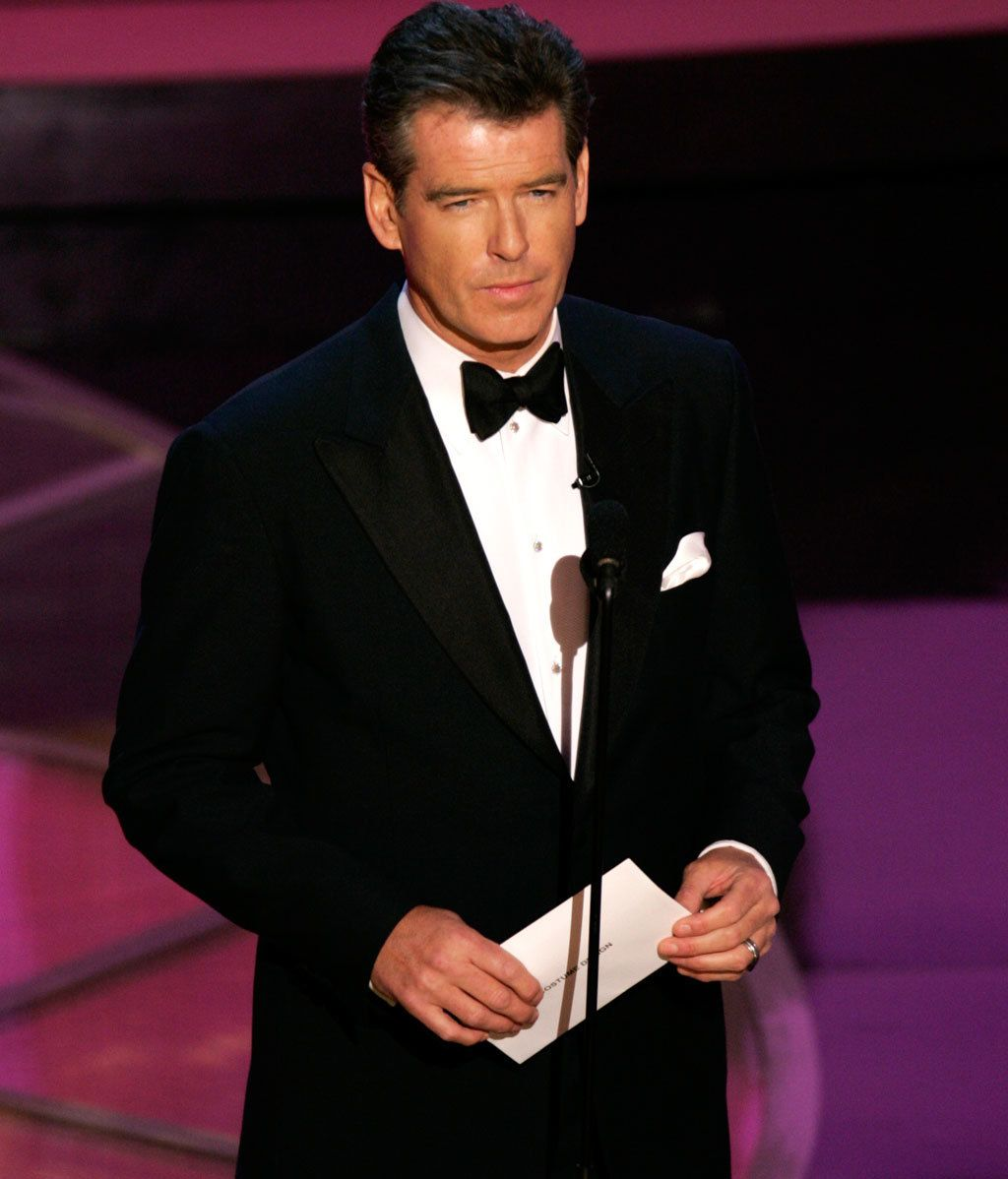 A los Oscar, con esmóquin
