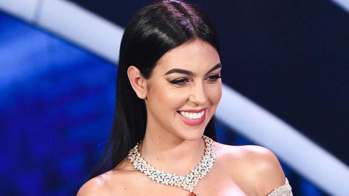 """Georgina se entrena como presentadora en Sanremo y baila su primer tango: """"Qué ilusión"""""""