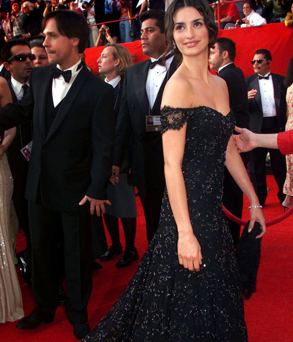 Penélope Cruz, en los Oscars de 2001