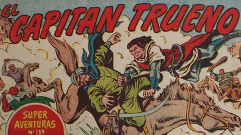 Los tebeos en los años cincuenta: del Capitán Trueno a Mortadelo