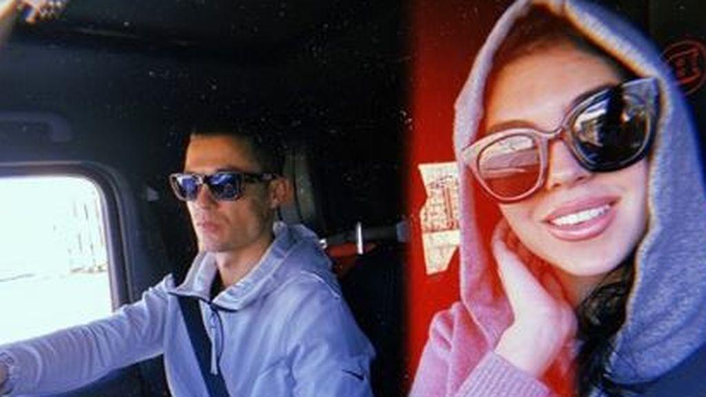 """Georgina, exultante por las felicitaciones de San Remo y con Cristiano de chófer: """"Gracias por tanto amor"""""""
