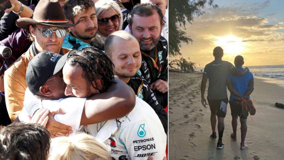 """La reconciliación de Lewis Hamilton con su padre: """"Perdimos ese vínculo padre-hijo y ahora quiero recuperar el tiempo"""""""