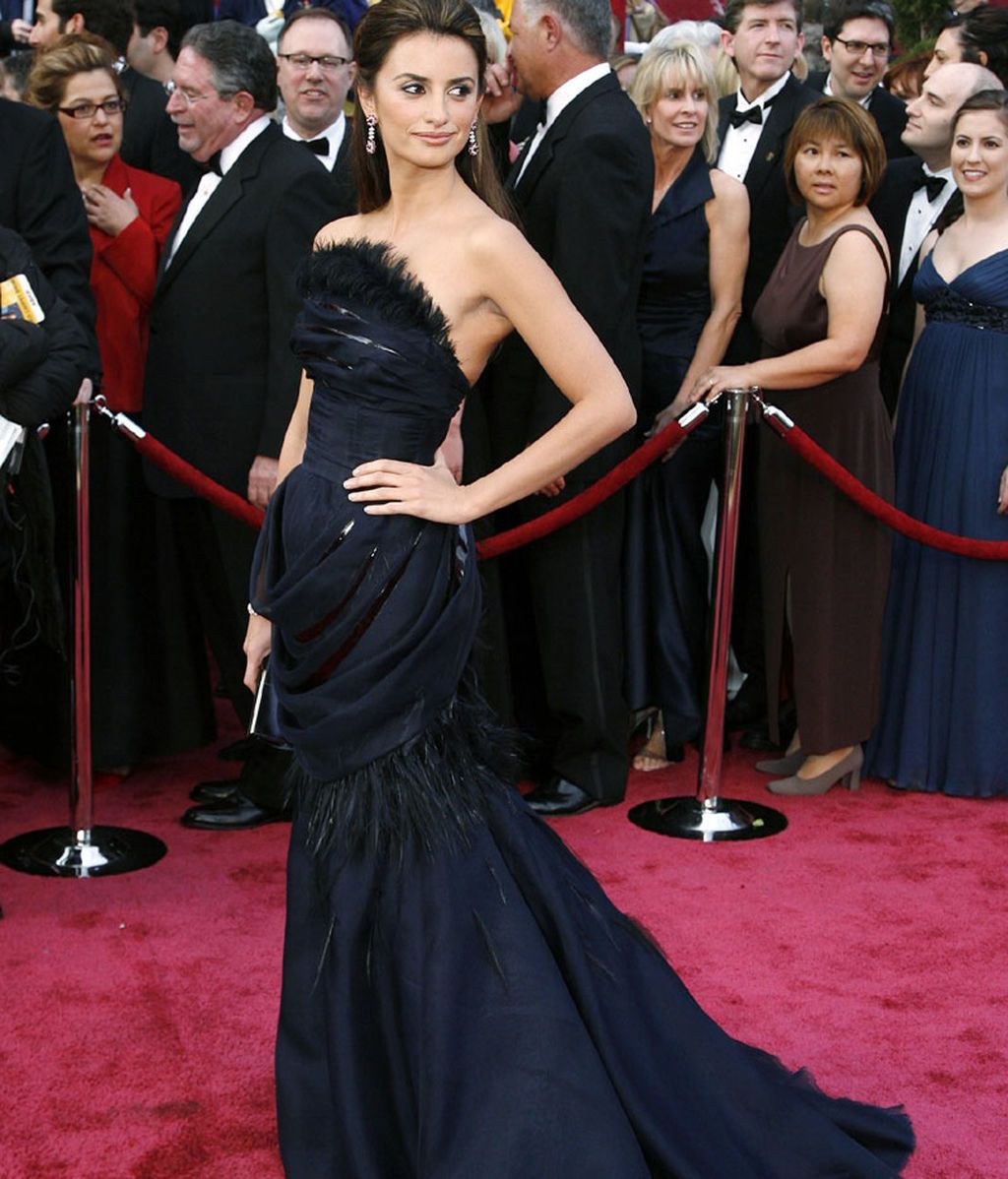 Penélope Cruz, en los Oscars de 2008