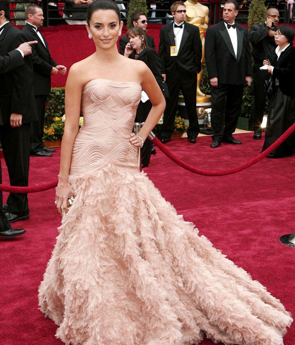 Penélope Cruz, en los Oscars de 2007