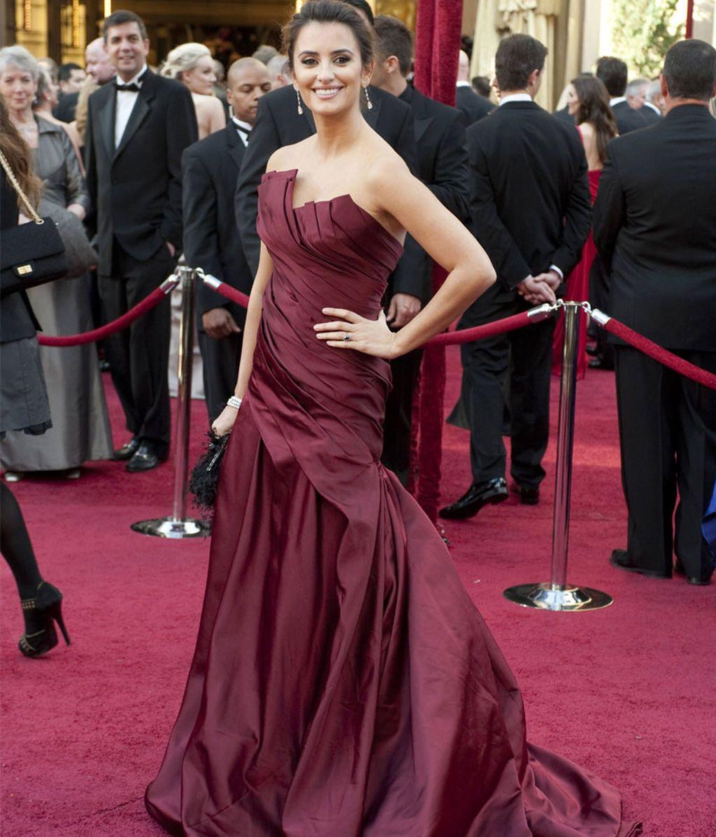 Penélope Cruz, en los Oscars de 2010