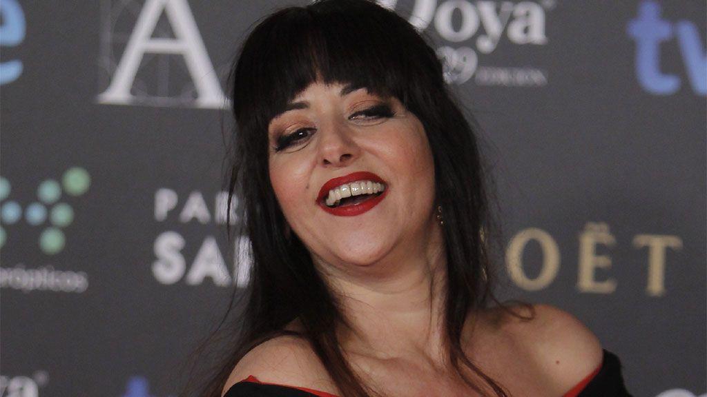 Yolanda Ramos, en los Premios Goya (2015)