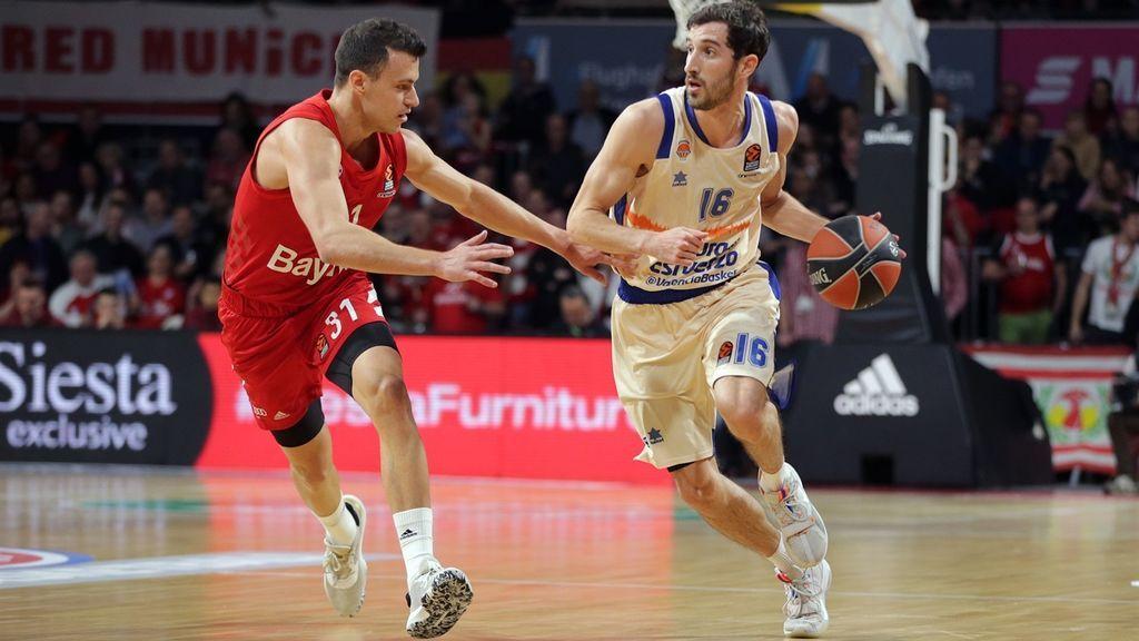El Valencia Basket consigue una trabajada victoria en cancha del Bayern Munich (59-66)