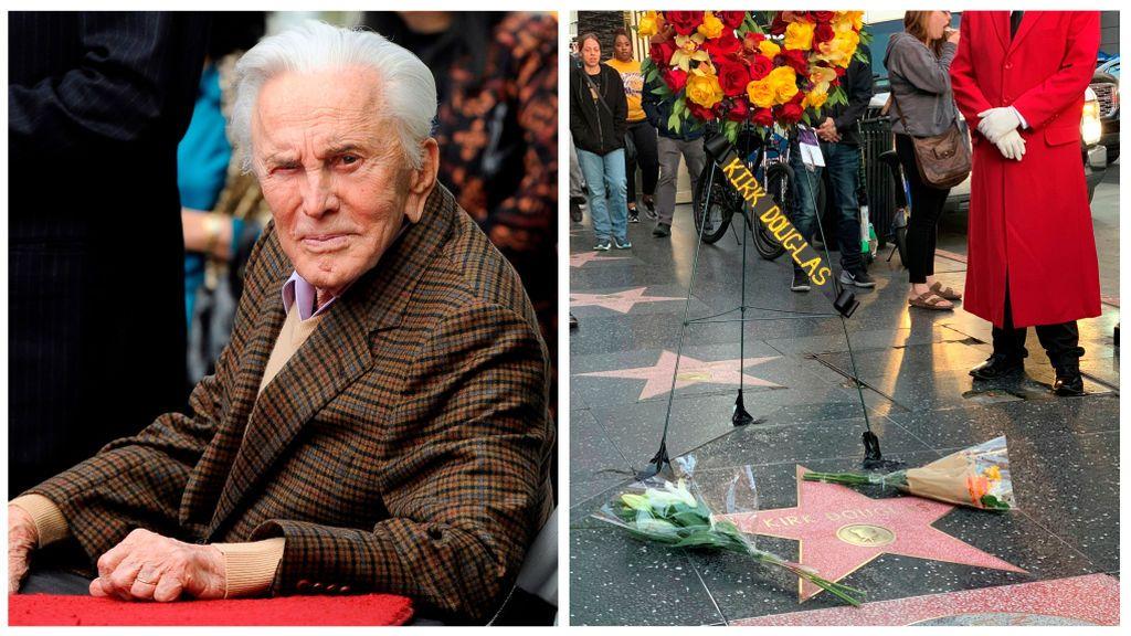 El último adiós a Kirk Douglas: sus familiares y amigos dan una emotiva despedida al reconocido actor