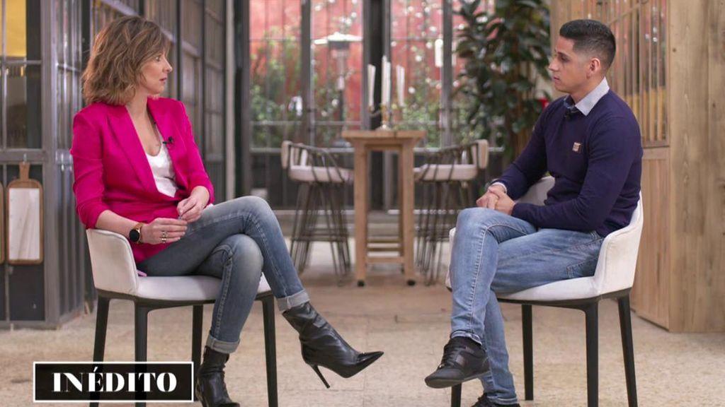 Lo que no se vio de la entrevista a Christofer