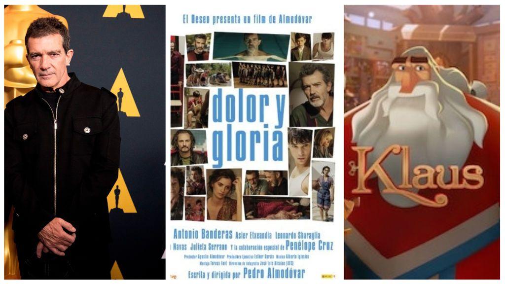 Las representaciones españolas en los Oscar: 'Dolor y gloria' de Almodóvar, Antonio Banderas y 'Klaus'