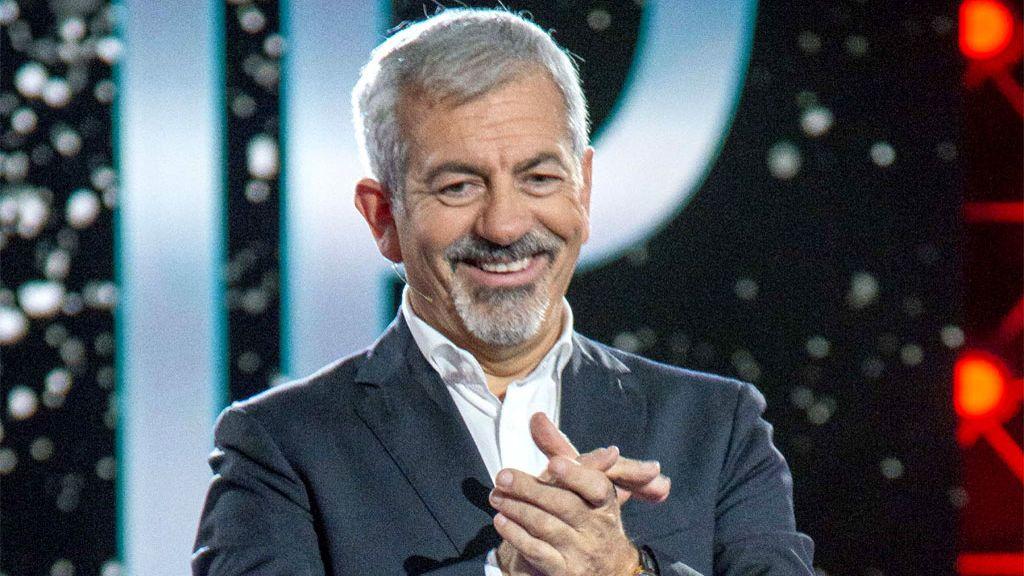 Carlos Sobera, en el plató de 'GH VIP 7'