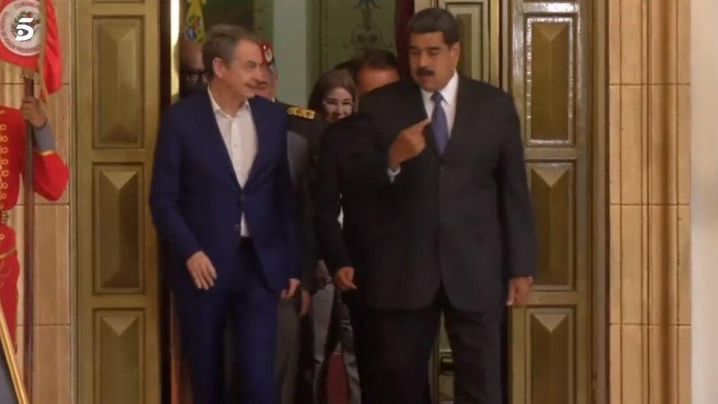 """Exteriores aclara que Zapatero viajó a Venezuela como """"ciudadano particular, sin ningún cargo y sin mandato del Gobierno"""""""