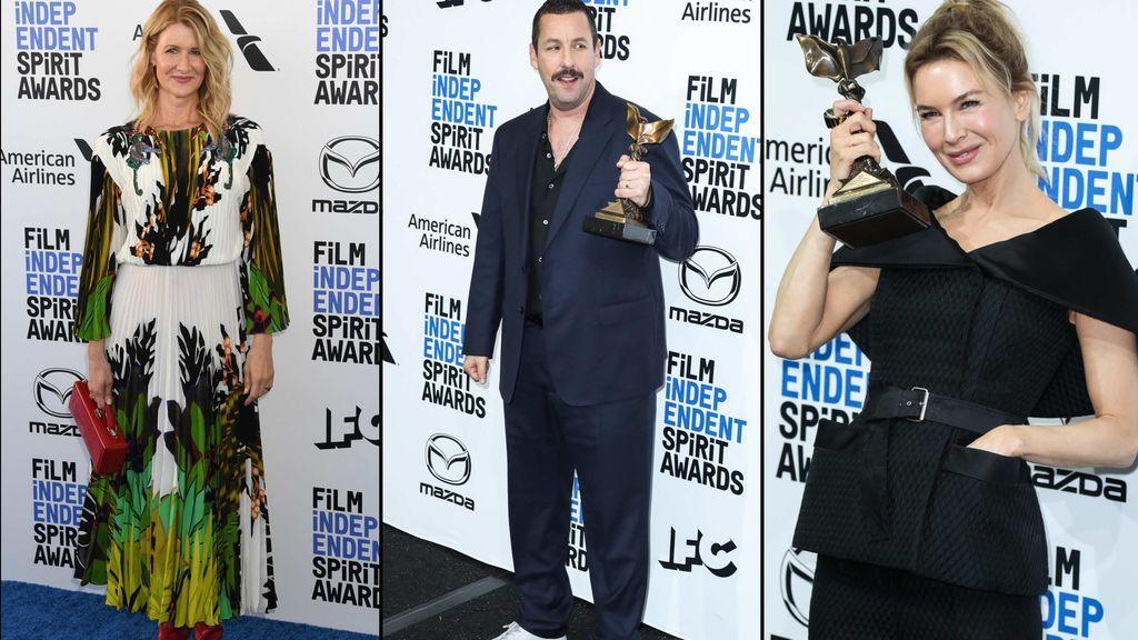 Renée Zellweger, Adam Sandler y Laura Dern, protagonistas de los premios Independent Spirit