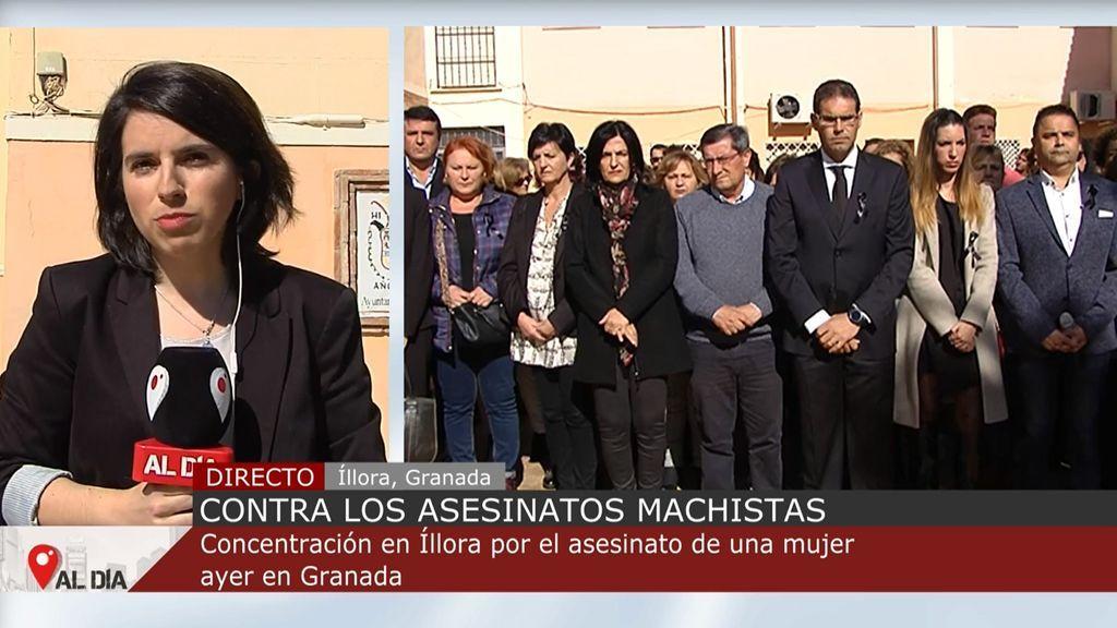 Homenaje a Ana, asesinada por su expareja en Granada: era una joven maestra madre de una niña de 10 años