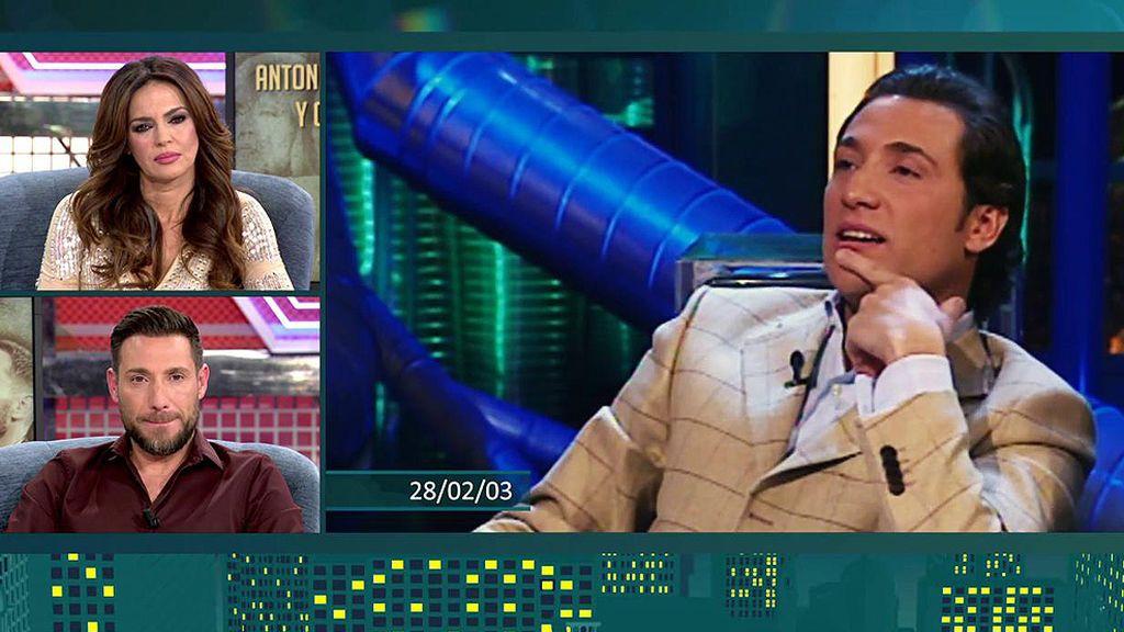 Las broncas más gordas de Antonio David en televisión