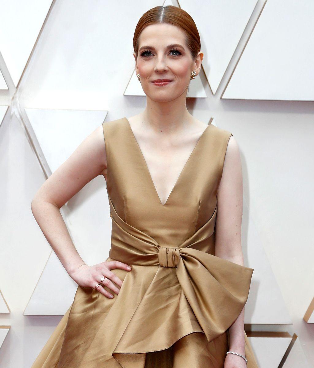 Krysty Wilson-Cairns posa en la alfombra roja de los Premios Óscar 2020
