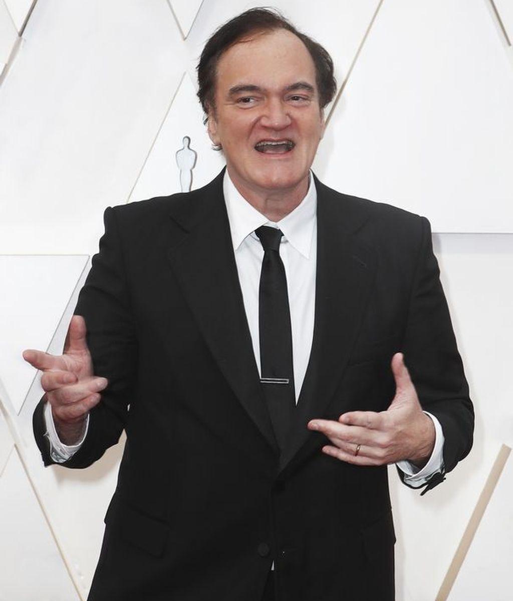 Quentin Tarantino posa en la alfombra roja de los Premios Óscar 2020