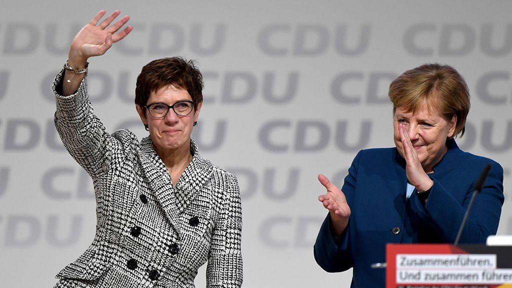 Annegret Kramp-Karrenbauer renuncia a suceder a Merkel tras el escándalo de Turingia